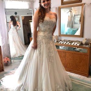 FABULOUS Wedding Dress! NEW